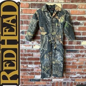 Youth size 10 REDHEAD Camouflage coveralls